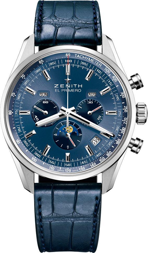 La Cote des Montres : Cinq nuances en bleu pour Zenith - All shades of blue - La manufacture Zenith célèbre ses modèles iconiques sous un jour nouveau