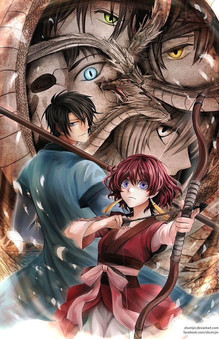 Akatsuki no Yona: Yona of the Dawn by Shumijin. Beautiful Art.