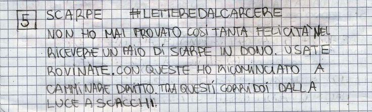 #LETTEREDALCARCERE #PAKKIANO N. 05 - SCARPE Lettera scritta dalla cella numero 22 del Penitenziario Santa Bona di Treviso