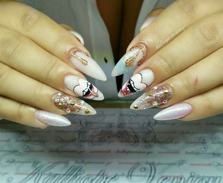 #nailart #nailartist #handmadenailart #nailexpert #instanails #girlythings #nailmania #nailporn #makemynails #makemyday #rock #kalliopeveniou #viphall #vipservices