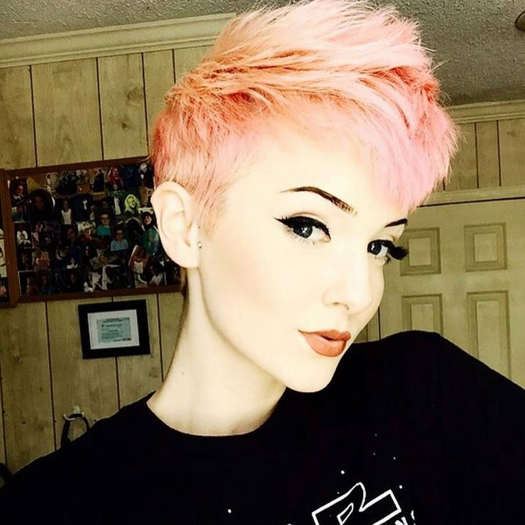 punk pixie haircut