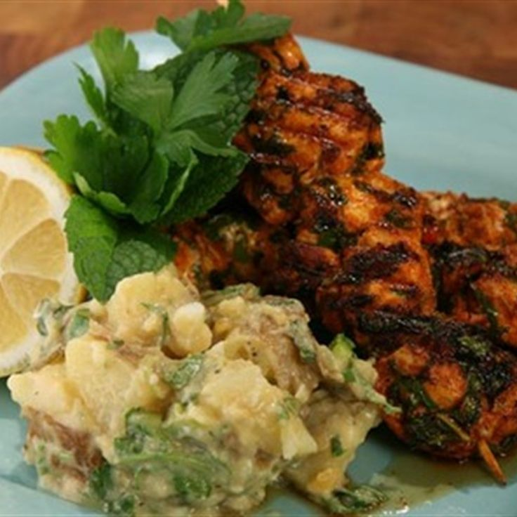 Try this Portuguese chicken with potato salad recipe by Chef Adrian Richardson. This recipe is from the show Good Chef / Bad Chef.