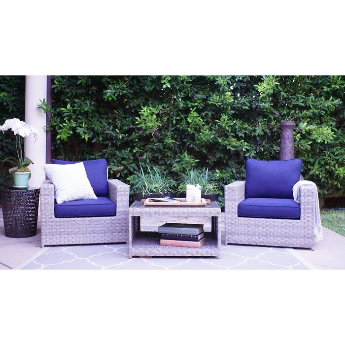 Need To Kordell Olefin 3 Piece Seating Group With Cushions Buy Now In 2020 Seating Groups Furniture Deep Seating