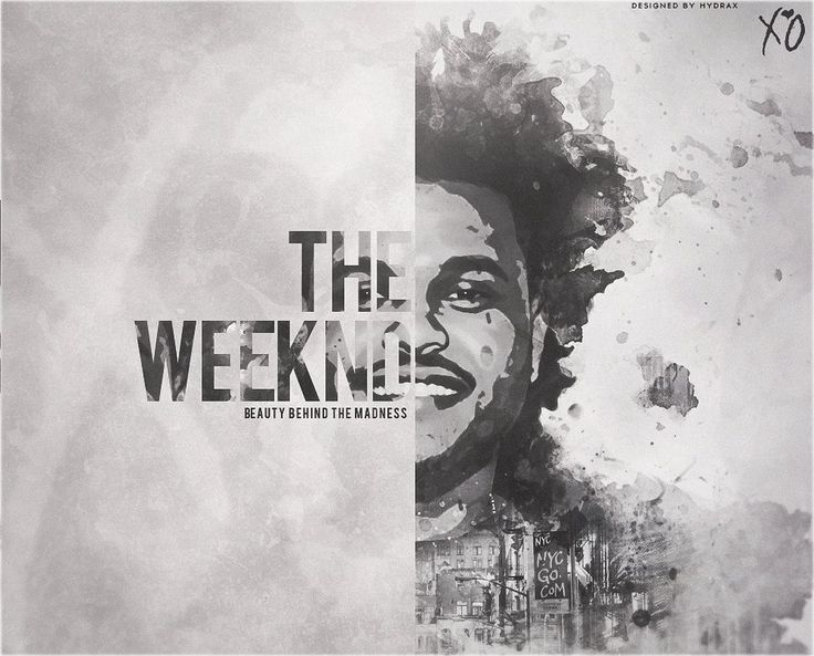 The Weeknd Album Cover by HydraxCreations