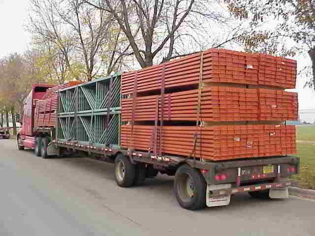 Pallet Racks  from SJF Winsted Mn -  Used Pallet Racking for Sale