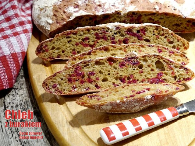 Gotuj zdrowo!Guten Appetit!: Chleb z burakiem Emmanuela Hadjiandreou. Styczniow...