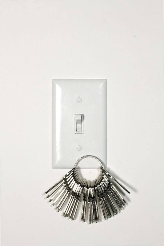 Magnetic Single Toggle Light Switch Plate Cover - Keeps Keys Handy Catalog
