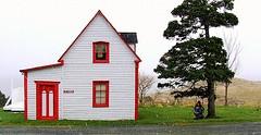 Saltbox house Newfoundland.