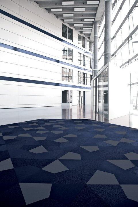 VORWERK FreeScale: Crystal     The loop piles and shapes create a amazing effect on the floor!        #floors #vorwerk #carpet #rug #shapes