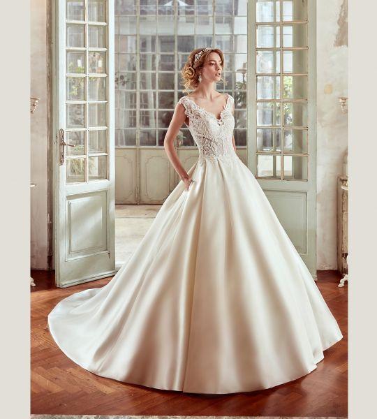 60 vestidos de novia corte princesa 2017 que querrás lucir ¡Elige el tuyo! Image: 41