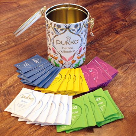 Pukka Tee Herbal Collection Tea Caddy
