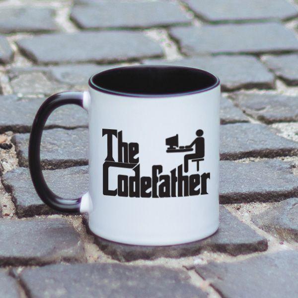 Esti fanul seriei The Godfather? Atunci avem si ideea perfecta de cadou pentru tine sau pentru prietenul tau programator. O cana cu mesaj haios inspirat din fimul The Godfather. Alege modelul pentru prietenul sau colegul de birou si il vei surprinde placut.