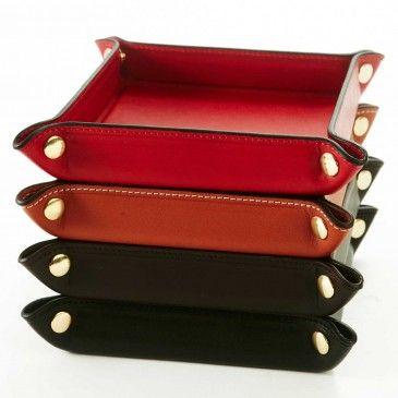 Hunt Trinket Tray - Desk Accessories - Home | Hunt Leather
