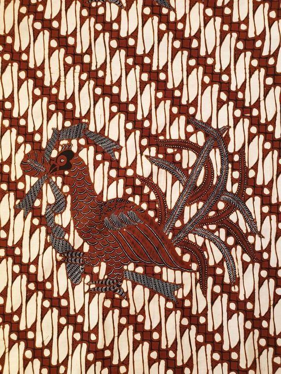 Handmade Indonesian Batik Tuli Textile
