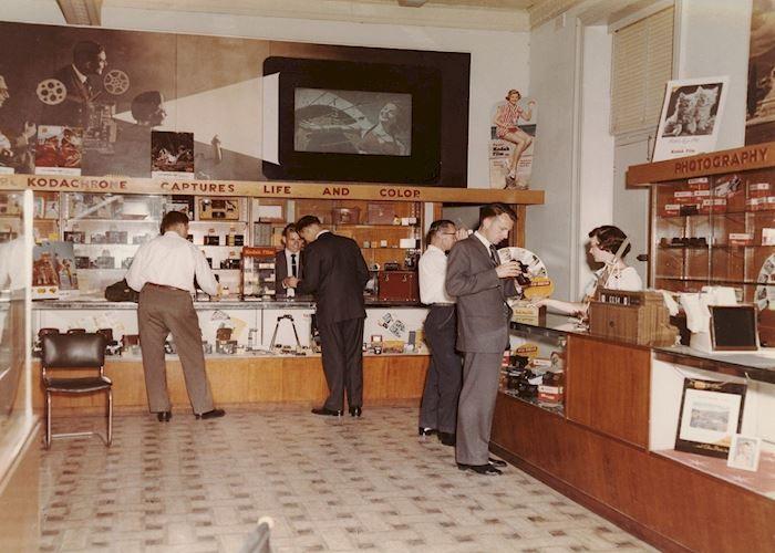 Kodak Australasia Pty Ltd, Shop Interior, Collins Street, Melbourne, circa 1960s Photograph - Kodak, Shop Interior