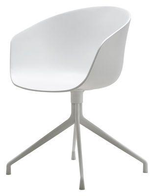 Fauteuil About a chair 4 pieds - Pivotant - 317_