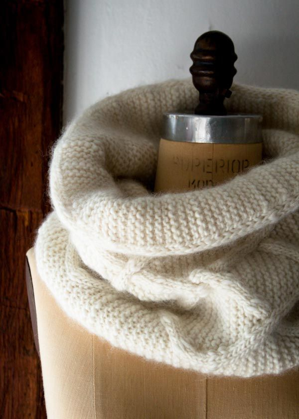 Cable Cloud Cowl   Purl Soho