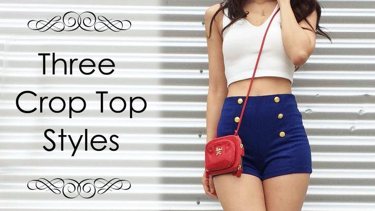 LOOKBOOK - Crop Top Styles for Summer