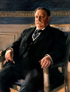 White House portrait of William Howard Taft by Anders Zorn.