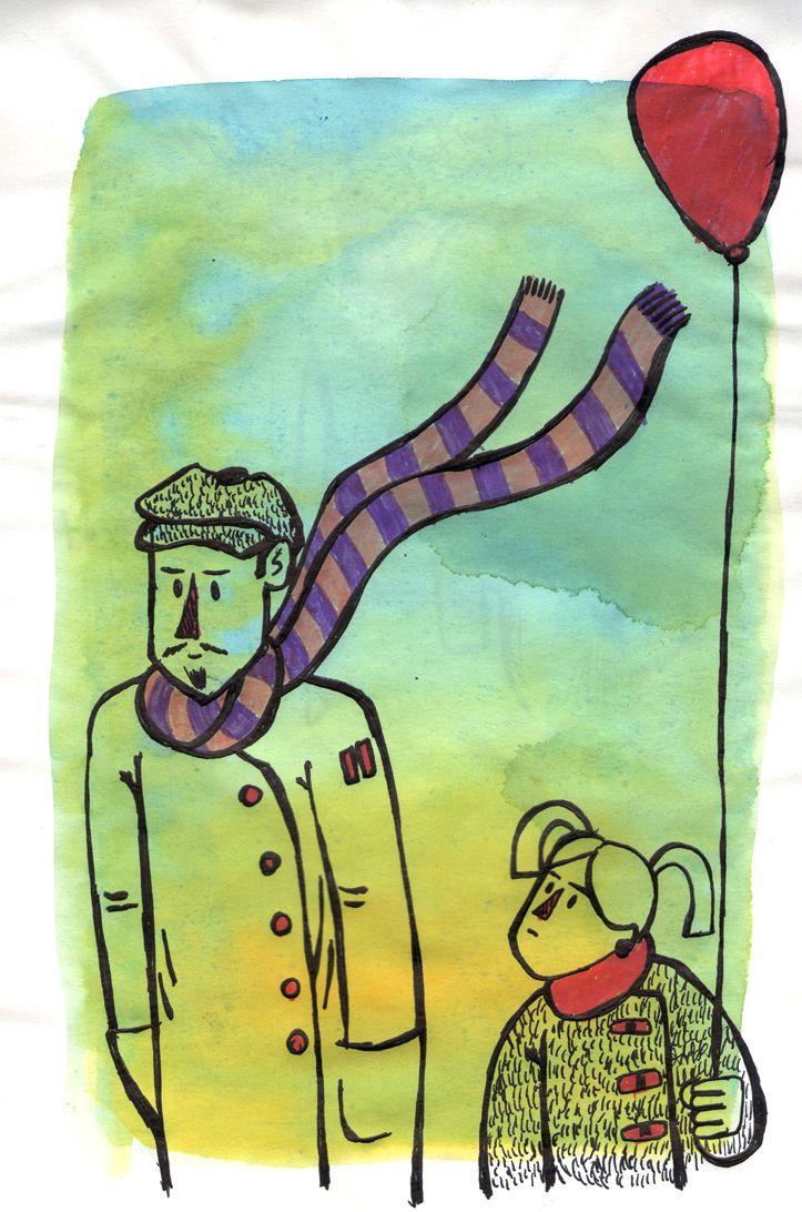 """GABRIEL AIQUEL // Ilustrador chileno con más de 18 años de experiencia en comunicación corporativa y editorial. Ha publicado """"El Modelo de Pickman"""", comic basado en el cuento homónimo de H.P. Lovecraft (guión de Gilberto Villarroel) y dibujado junto a Christian Luco y """"Calcetín con Papa"""" (humor visual). He expuesto en numerosas ocasiones, destacando """"12 Monos"""", y originales de """"El Modelo de Pickman"""" y """"Calcetín con Papa, en la Casona Nemesio Antúnez. #7artescl #chile #illustration…"""