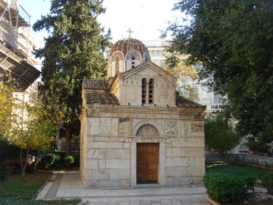 Ο ναός του Αγίου Ελευθερίου και της Παναγίας Γοργοεπηκόπου. Τέλη του 11ου ή 12ου αιώνα.