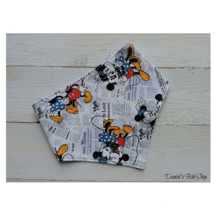 vintage Mickey Mouse bibdana