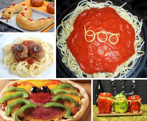 fun halloween party food - Halloween Dinner Kids