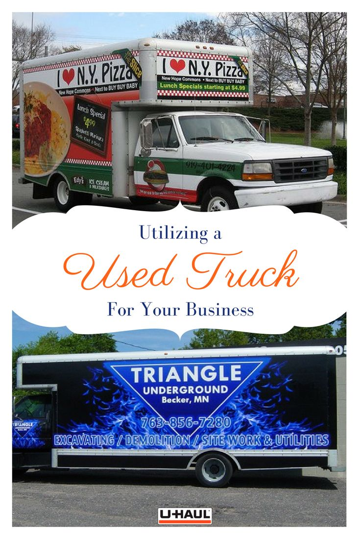 A used truck might be the most versatile business investment you could make they serve small business needs storage deliveries and mobile advertising