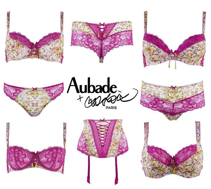 aubade by christian lacroix idylle parisienne princesse imp riale lingerie 2016 audace de. Black Bedroom Furniture Sets. Home Design Ideas