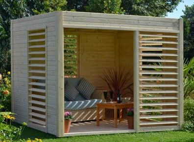 1000 ideas about abri jardin bois on pinterest abris de for Pavillon de jardin moderne