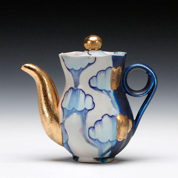 487 best Clay: Teapots images on Pinterest   Tea pots