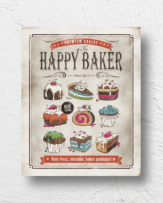 Beautiful 110 Best Kitchen Poster Images On Pinterest | Illustrated Recipe  HO55