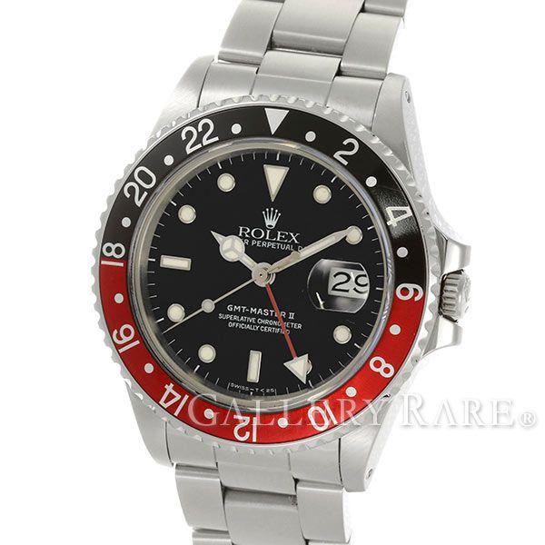 ロレックス GMTマスター2 デイト 9番 16760 ROLEX 腕時計