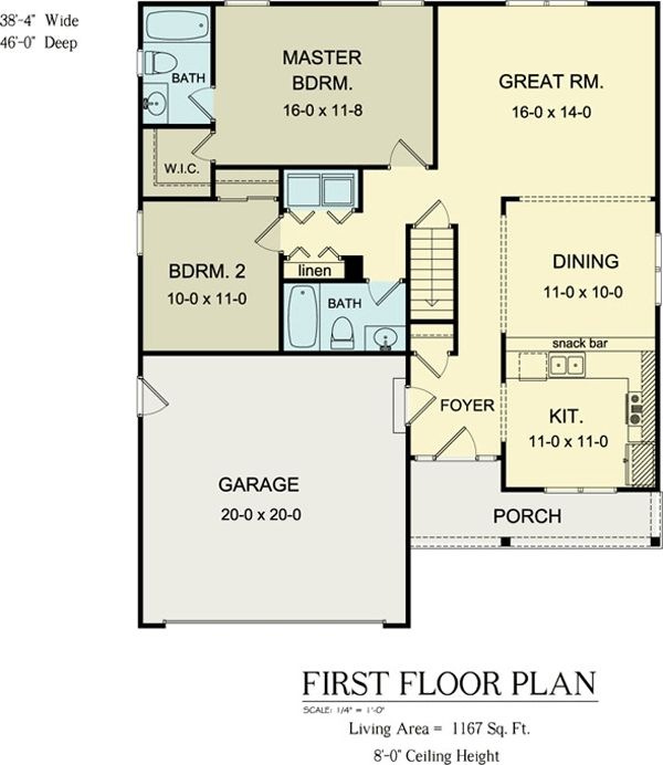 15 best houseplans 1100 1199 images on pinterest small for 1100 sq ft ranch house plans