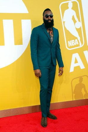 James Harden - The Conversation-Worthy Looks From the 2017 NBA Awards Red Carpet