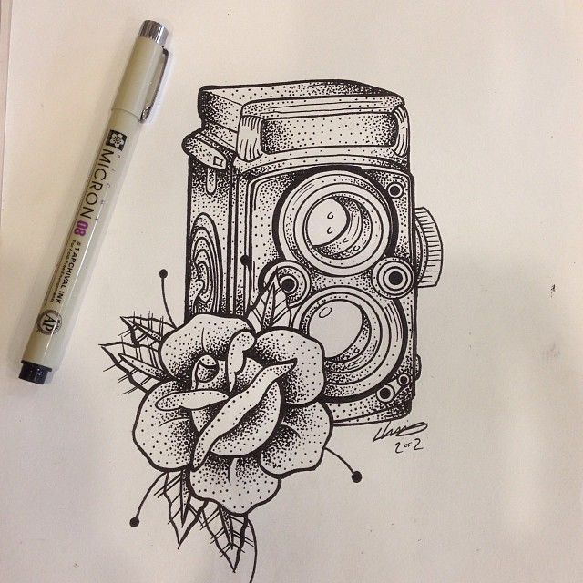 camera tattoo - Google 搜尋