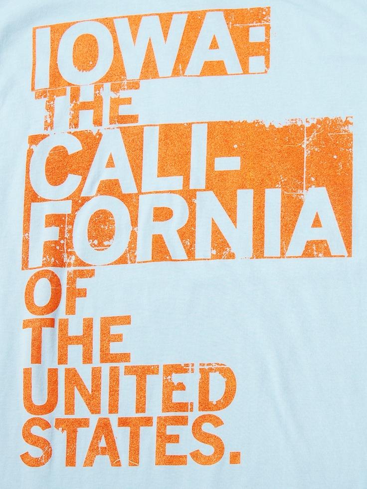 Iowa: The California of the United States