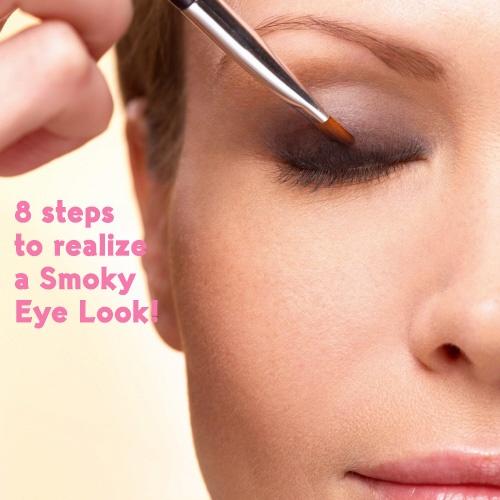 8 steps to realize a Smoky Eye Look! #makeuptips #yvesrocher