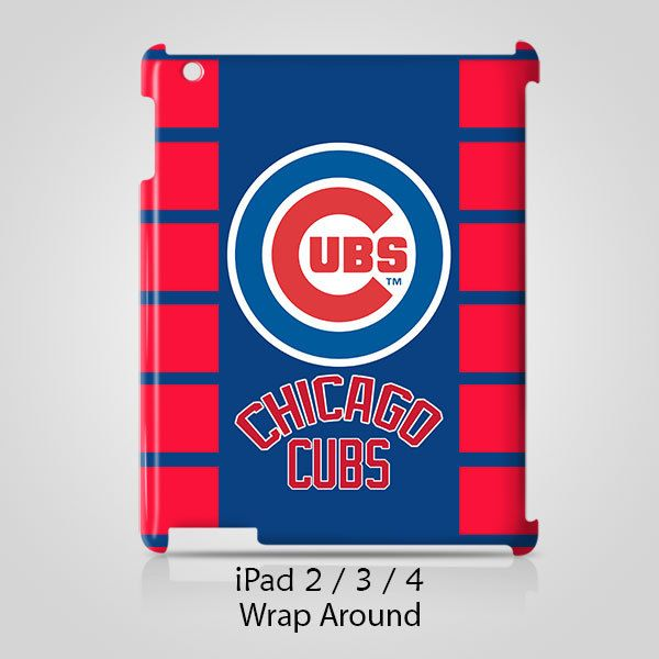 Chicago Cubs iPad 2 3 4 Case