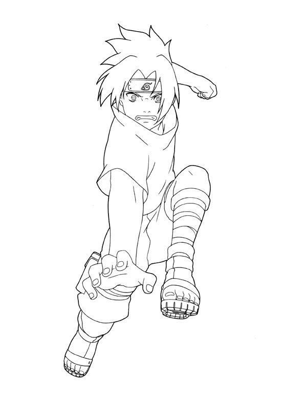 naruto coloring pages 999 - photo#19