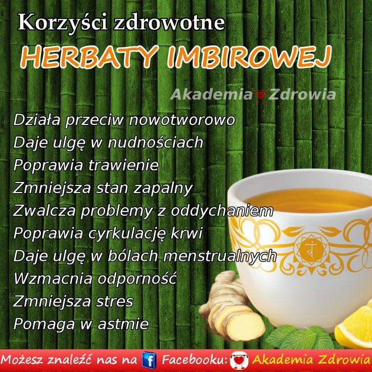 Korzyści zdrowotne herbaty imbirowej - Zdrowe poradniki
