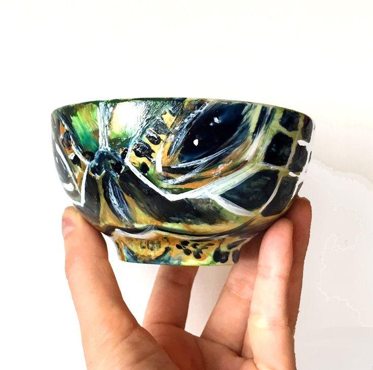 """SEA TURTLE"" Porcelain Art Bowl"