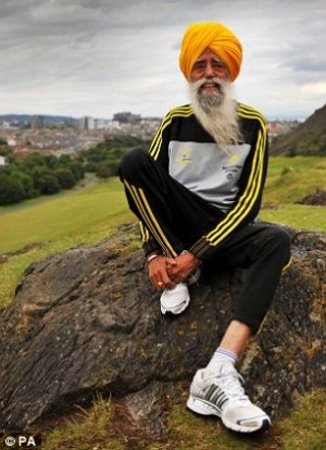 Run For Your Rights: Fauja Singh, World's Oldest Runner, Races For Women's Rights