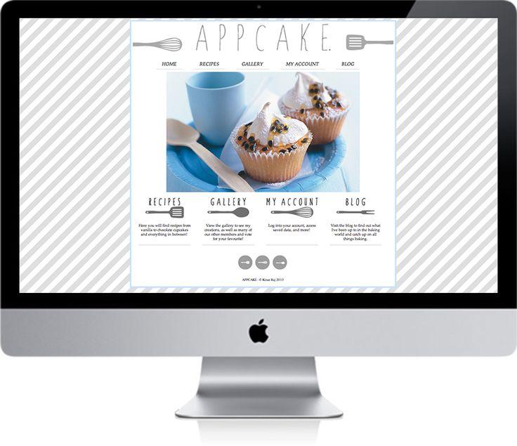 Appcake website