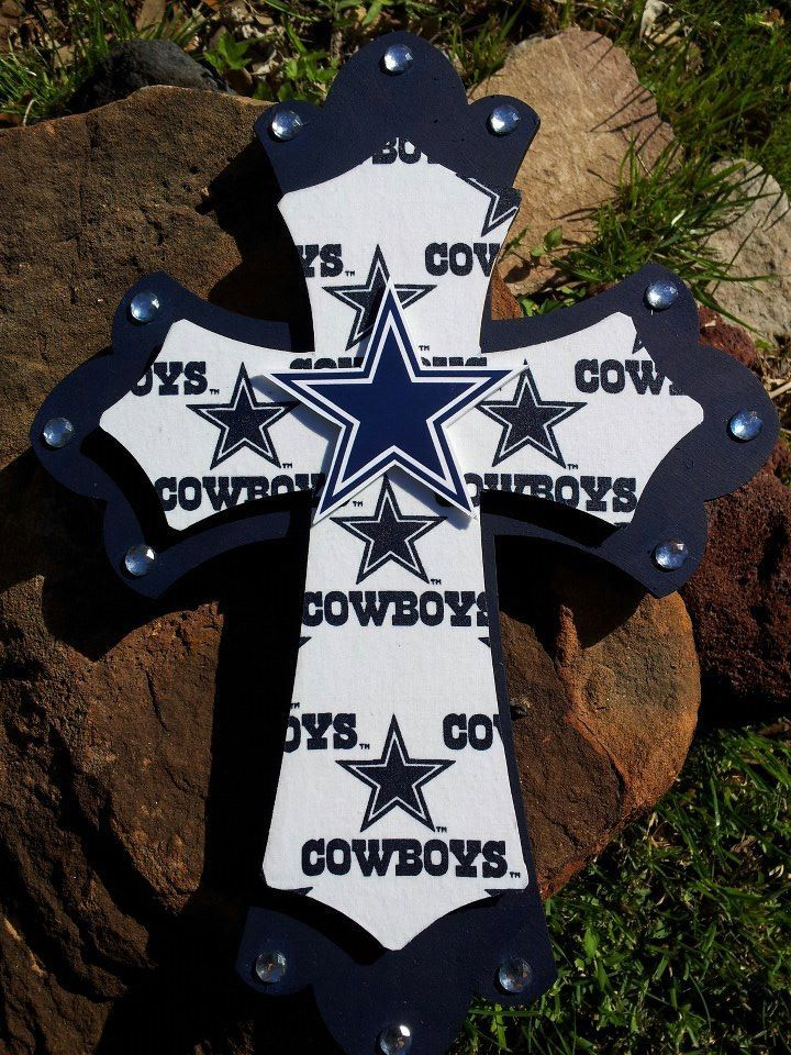357 best diy cross images on pinterest wooden crosses for Dallas cowboys arts and crafts
