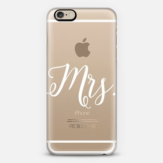 Mrs. - Transparent - Classic Snap Case