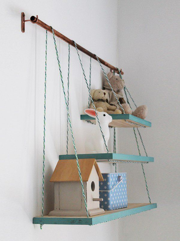 How to Make Pretty Copper and Pine Shelves  These pine shelves are really very easy to do and they look great, so I thought it's time to share the step-by-step…