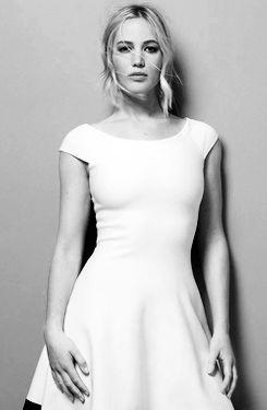 Jennifer Lawrence photographed by Jean-Baptiste Mondino