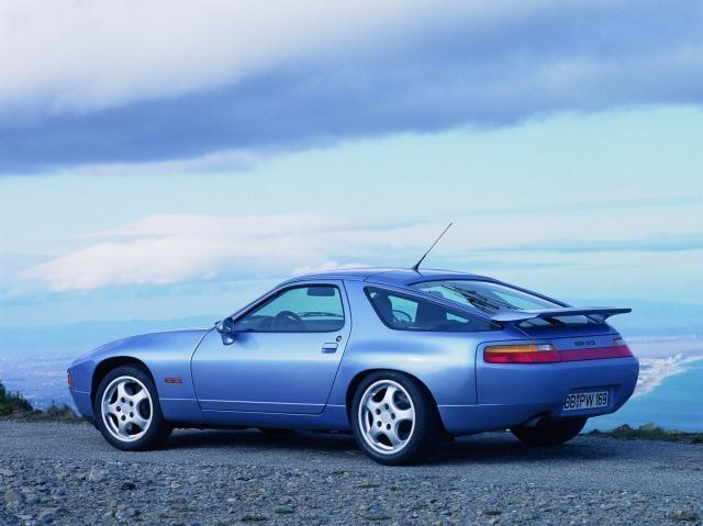 1993 Porsche 928 GTS - Factory Photos