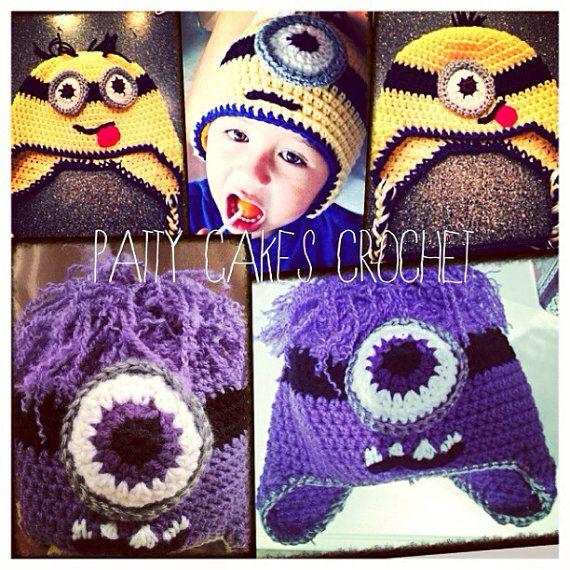 47 best Despicable Me Crochet images on Pinterest | Crochet patterns ...